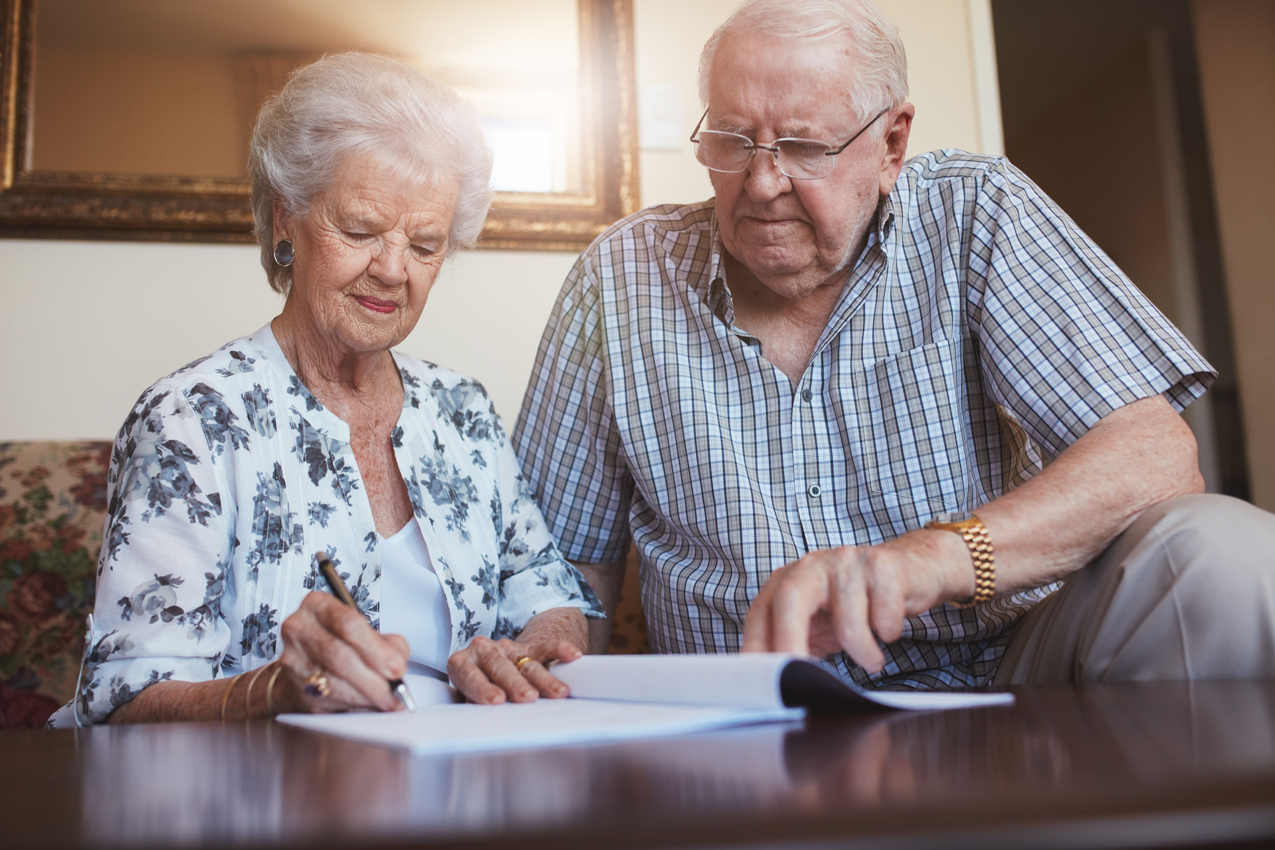 living wills and legal trusts