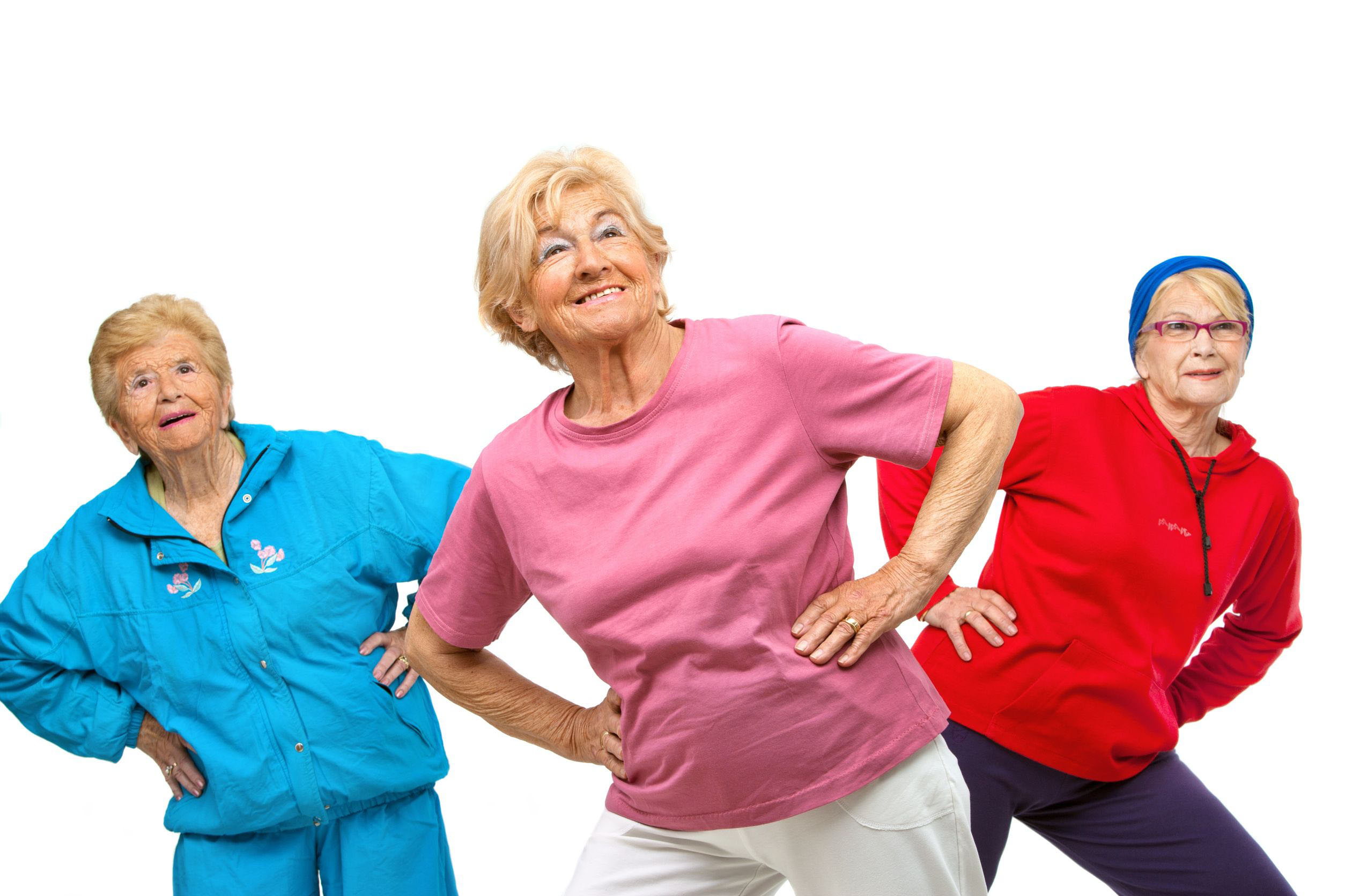 senior citizen fitness